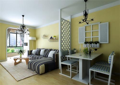 2,客厅和餐厅连在一起怎么装修——屏风隔断
